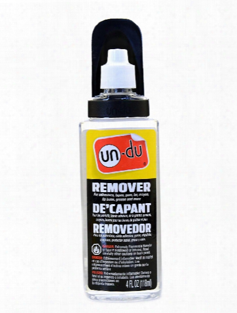 Adhesive Remover 4 Oz. Bottle