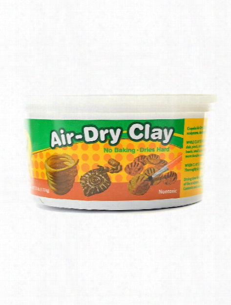 Air-dry Clay 2.5 Lb. Tub Terra Cotta