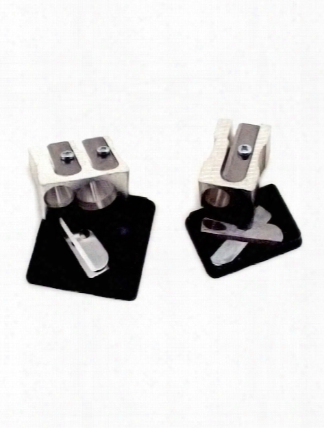 Aluminum Pencil Sharpeners Single