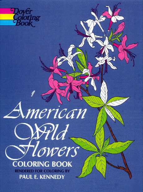 American Wildflowers Coloring Book American Wildflowers Coloring Book