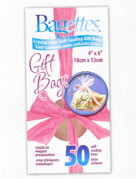 Bagettes Gift Bags 3 In. X 4 In. Box Of 50