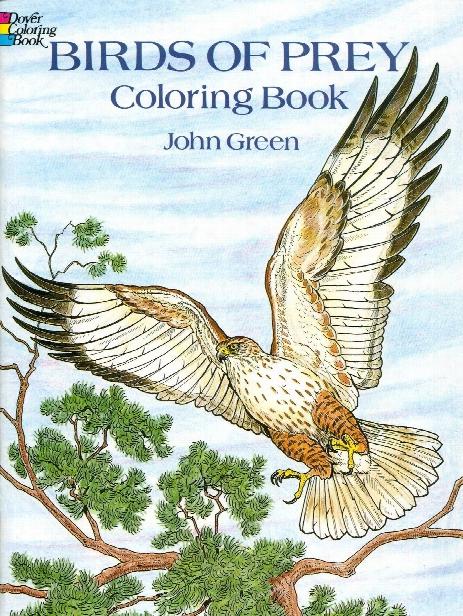 Birds Of Prey Coloring Book Birds Of Prey Coloring Book
