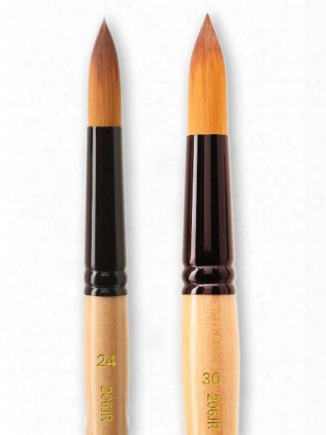 Black Gold Series Synthetic Brushes Jumbo Round 30
