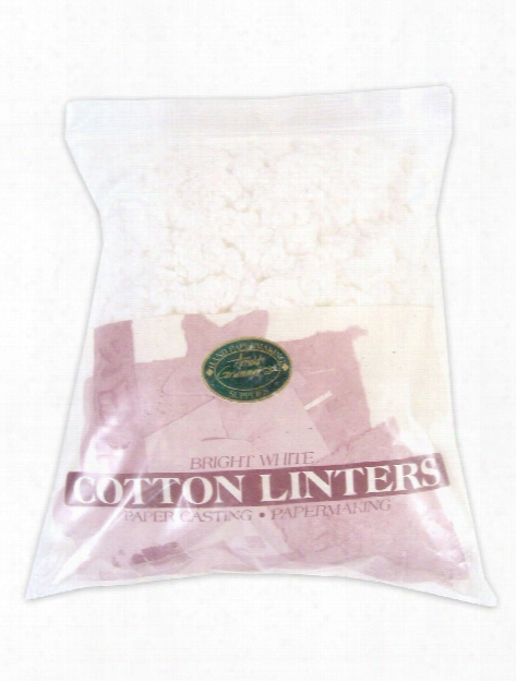Bright White Cotton Linters 8 Oz.