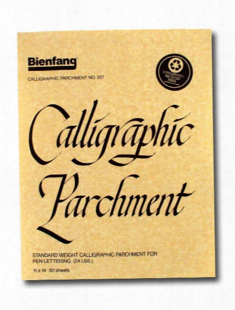Calligraphi C Parchment Pack Of 50