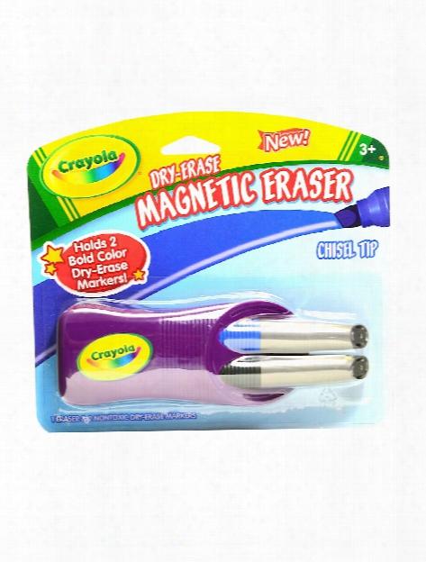 Chisel Tip Dry-erase Markers Pack Of 2 Markers W Eraser