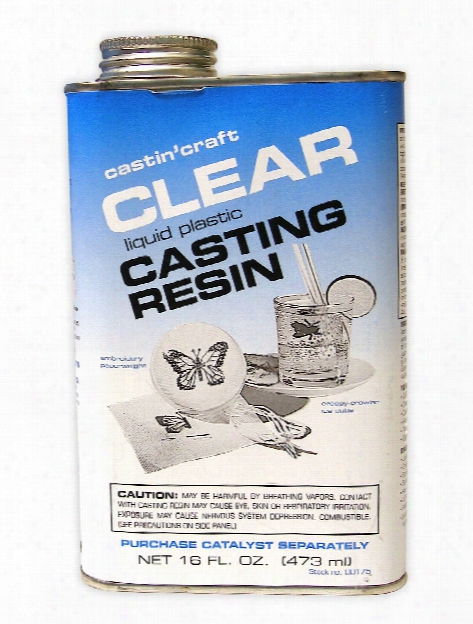 Clear Polyester Casting Resin Gallon
