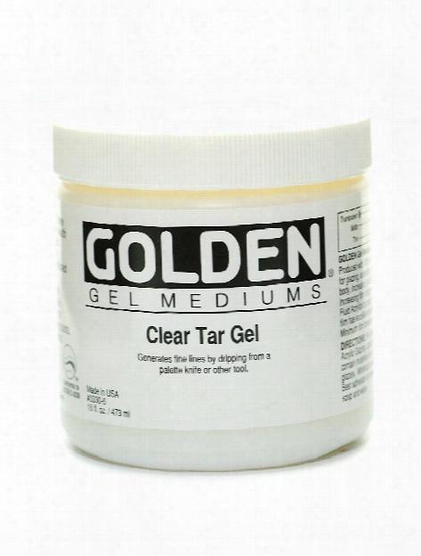 Clear Tar Gel 8 Oz.