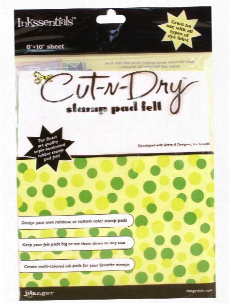 Cut N' Dry Stamp Pad Felt Felt