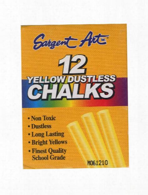 Dustless Chalks White