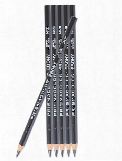 Ebony Graphite Drawing Pencils Each