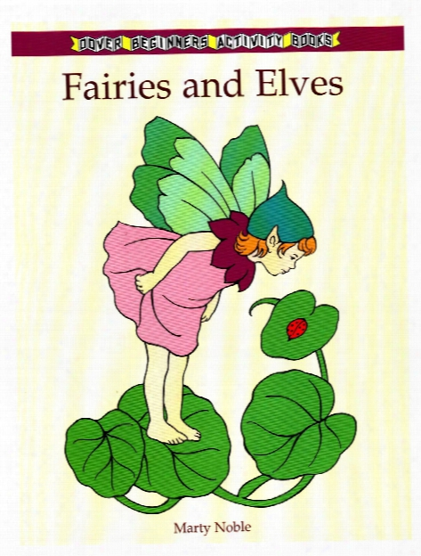 Fairies And Elves Coloring Book Fairies And Elves Coloring Book