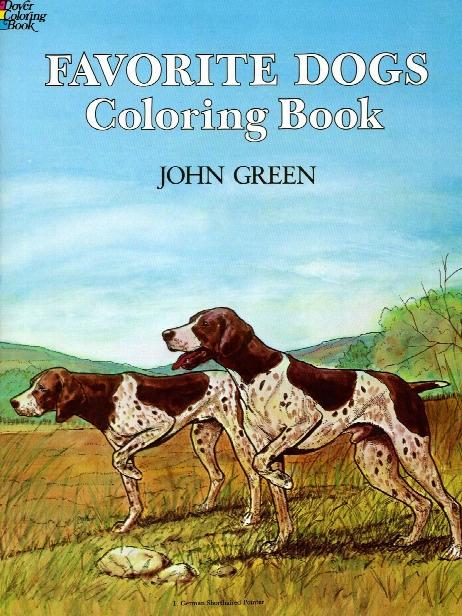 Favorite Dogs Coloring Book Favorite Dogs Ocloring Book