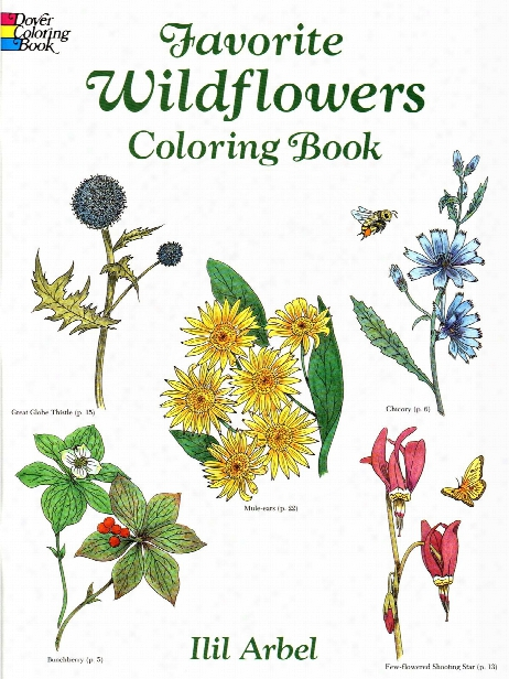 Favorite Wildflowers Coloring Book Favorite Wildflowers Coloring Book