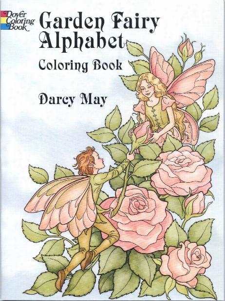 Garden Fairy Alphabet Coloring Book Garden Fairy Alphabet Coloring Book