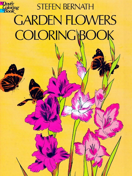 Garden Flowers Coloring Book Garden Flowers Coloring Book