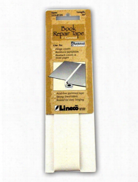 Gummed Book Repair Tape 1 In. X 36 In.