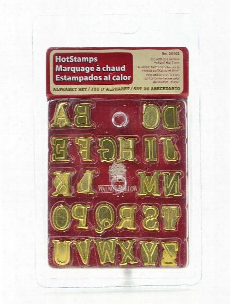 Hot Stamps Sets Alphabet 26 Pcs.