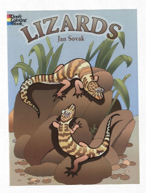 Lizards Coloring Book Lizards Coloring Book