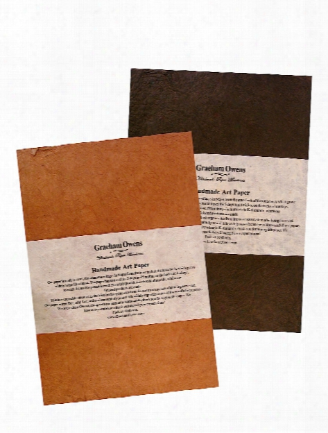 Lokta Handmade Art Paper Terra Cotta 14 In. X 21 In. Each