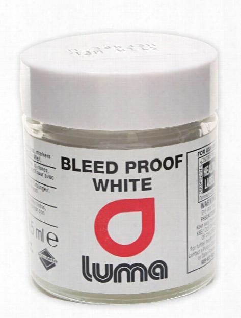 Luma Bleed Proof White Opaque White