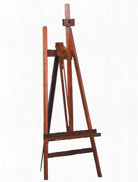 Lyptus Wood Cascade Adjustable Lyre Easel Easel