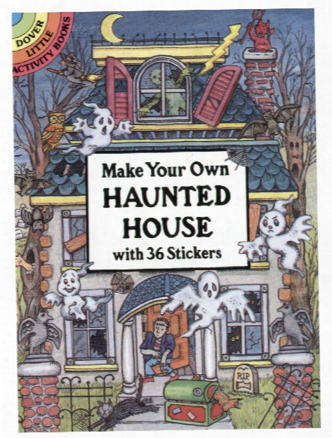 Make Your Own Haunted House With 36 Stickers Make Your Own Haunted House With 36 Stickers