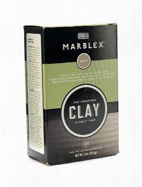 Marblex Self Hardening Clay 2 Lb.