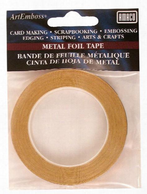 Metal Foil Tape Brass
