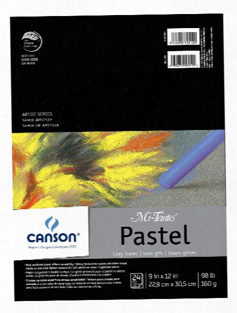 Mi-teintes Pastel Assorted Pad 12 In. X 16 In.