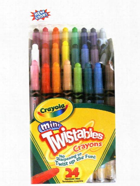 Mini Twistables Crayons Set Of 10
