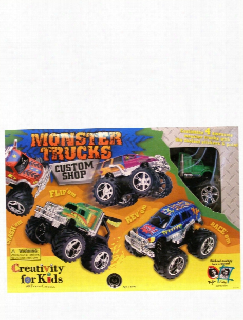 Monster Trucks Custom Shop 4 Truck Kit