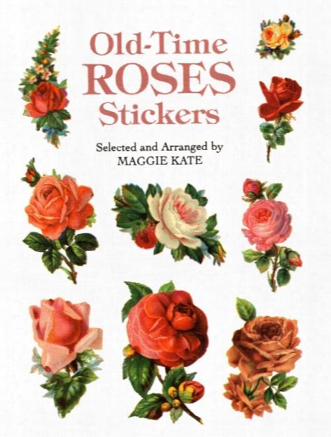 Old-time Roses Stickers Old-time Roses Stickers