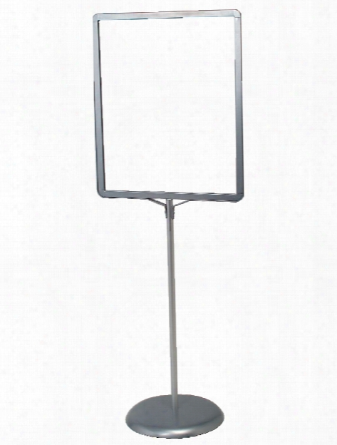 Open Poster Holder - Lf128 Silver