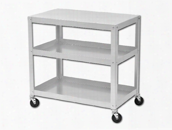 Open Studio Storage Carts And Tables Art Cart 18 In. X 30 In. X 30 In.