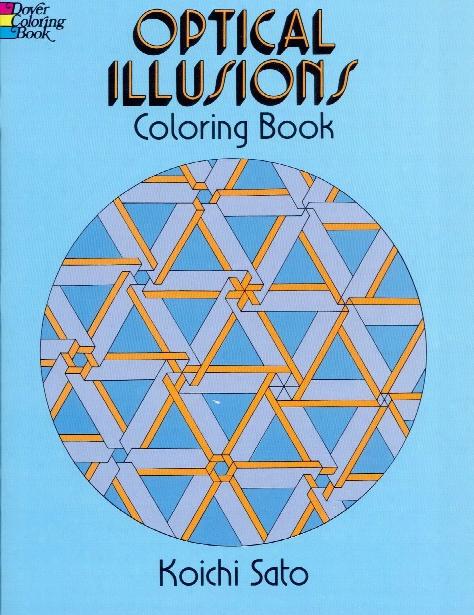 Optical Illusions Coloring Book Optical Illusions Coloring Book