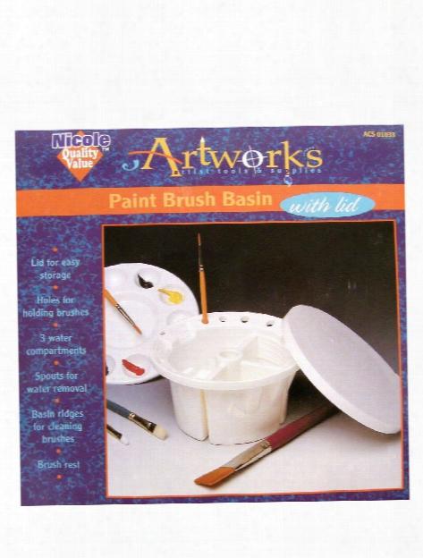 Paint Brush Basin Paint Brush Basin