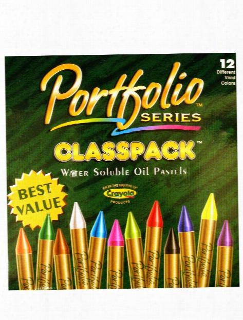 Portfolio Series Water Soluble Oil Pastels Classpack Pack Of 300