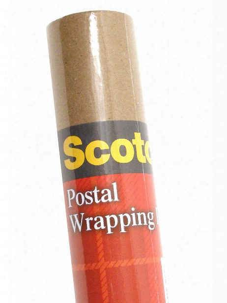 Postal Wrapping Paper 30 In. X 15 Ft. Roll
