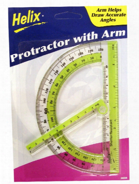 Protractor With Swing Arm Protractor