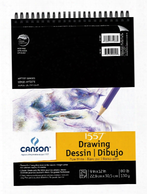 Pure White Drawing Pads 11 In. X 14 In.