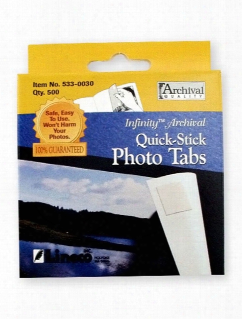 Quick Stick Photo Tabs Pack Of 500