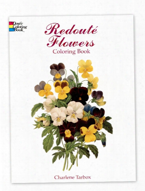 Redoute Flowers Coloring Book Redoute Flowers Coloring Book
