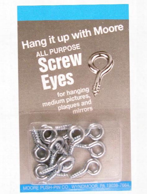 Screw Eyes Large Pack Of 6