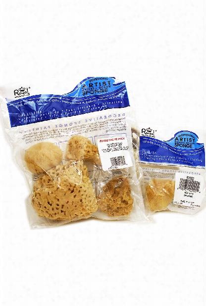 Sea Silk Sponges Pack Of 4