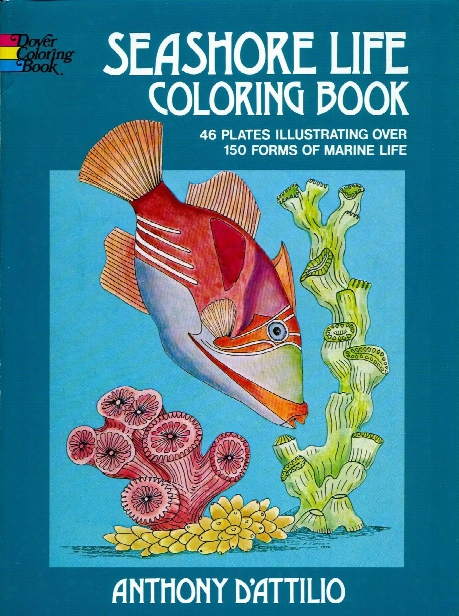 Seashore Life Coloring Book Seashore Life Coloring Book