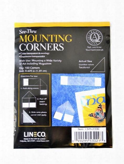 See-thru Mounting Corners Pack Of 100