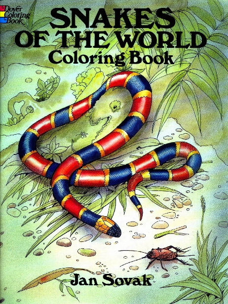 Snakes Of The World Coloring Book Snakes Of The World Coloring Book