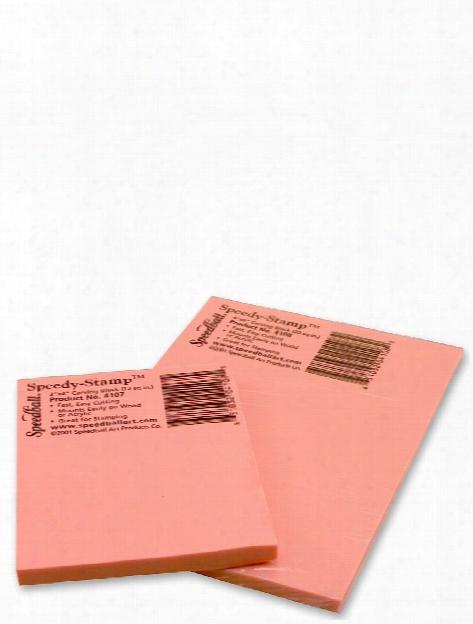 Speedy Stamp Blocks 3 In. X 4 In.