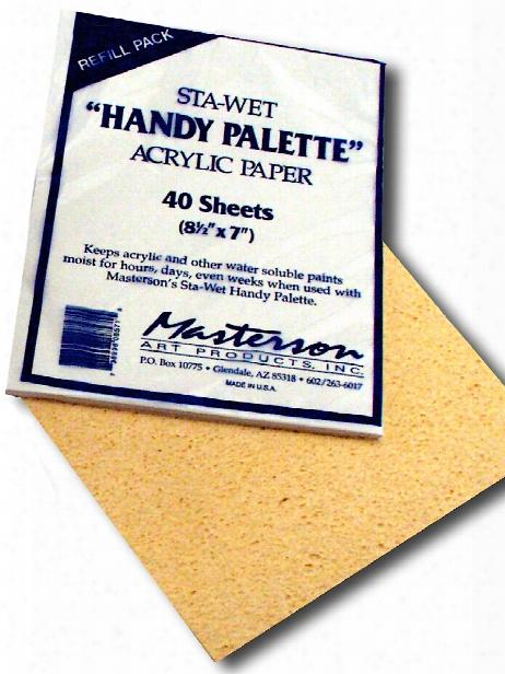 Sta-wet Handy Palette Each No. 857 Sta-wet Handy Palette